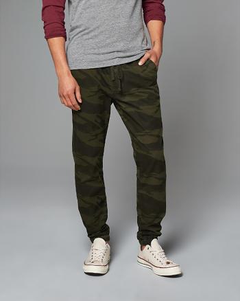 ANF Dark Camo Jogger Pants