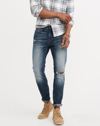 Mens Super Skinny Iconic Jeans