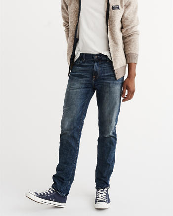 ANF Slim Straight Iconic Jeans