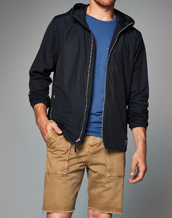 ANF Zip Hooded Jacket