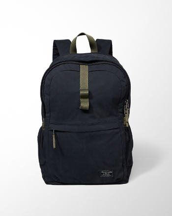 Mens Zip Pocket Backpack