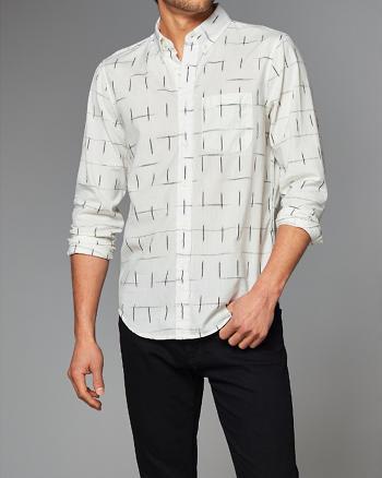 ANF Ikat Printed Shirt