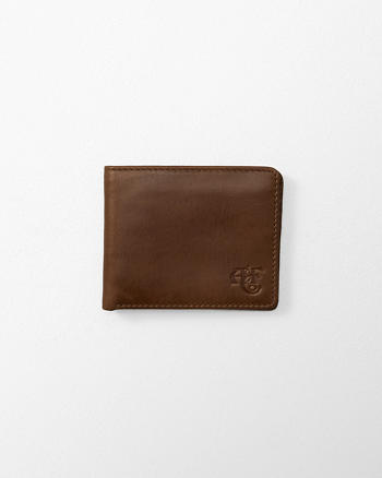 ANF Monogram Logo Domestic Leather Wallet