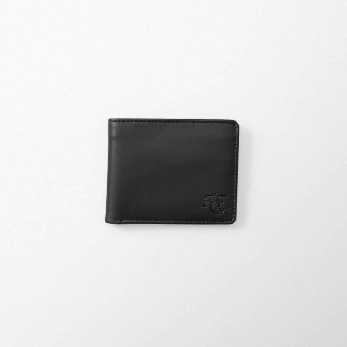 Monogram Logo Leather Wallet