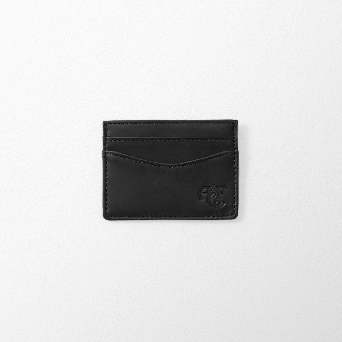 Monogram Logo Leather Cardholder