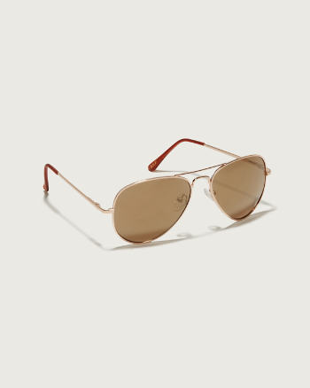 Womens Wire Frame Sunglasses