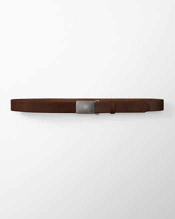 ANF Logo Leather Belt
