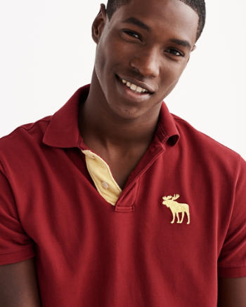 ANF Classic Fit Big Icon Polo
