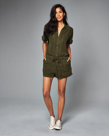 ANF Utility Romper
