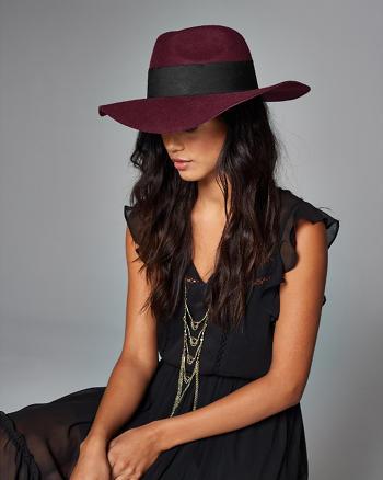ANF Banded Felt Hat