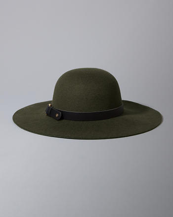 ANF Buckle Felt Hat