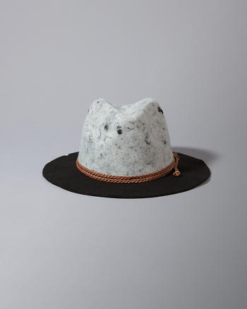 ANF Two-Tone Felt Hat