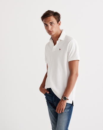 ANF Classic Fit Icon Polo