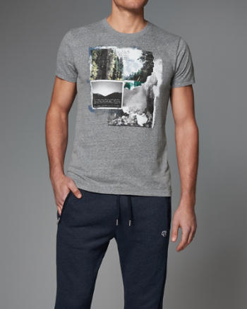 Mens Photoreal Graphic Tee