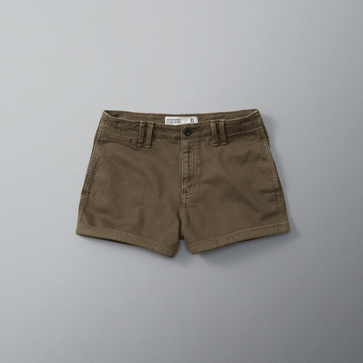 High Rise 2 Inch Chino Shorts