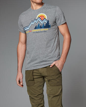 ANF SeriousFun Graphic Tee