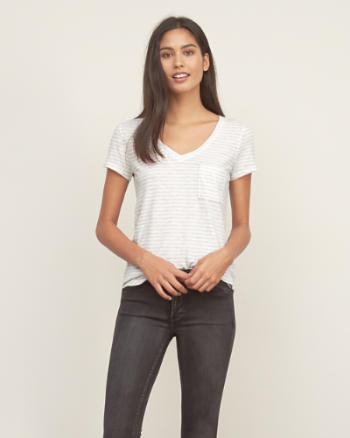 Womens Easy V-Neck Tee