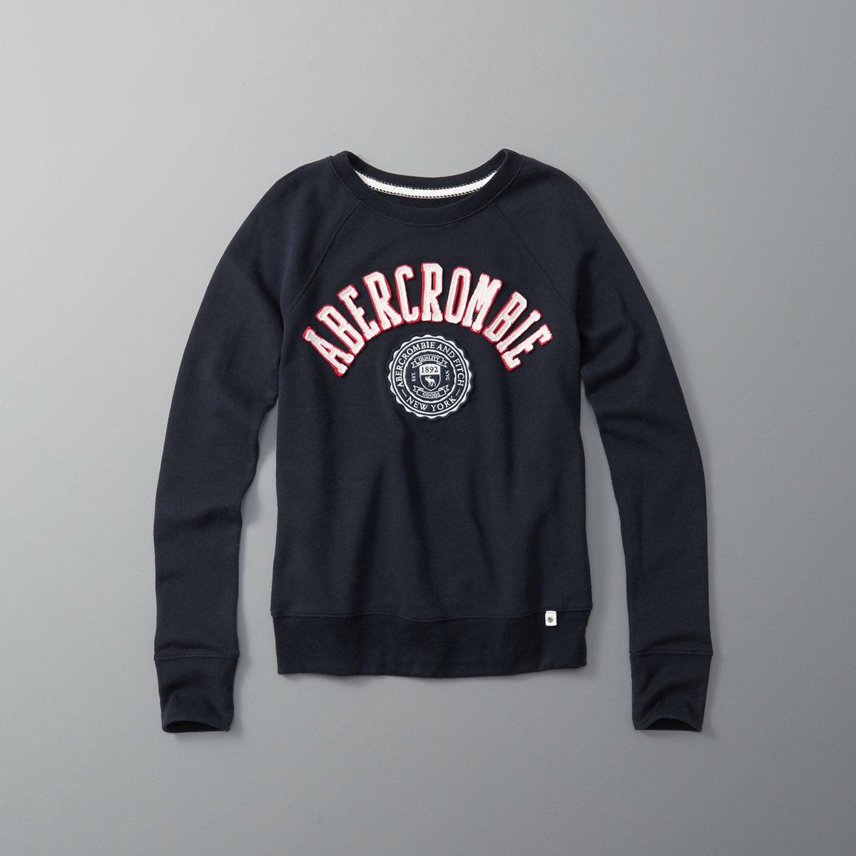 Logo Graphic Crew Sweatshirt
