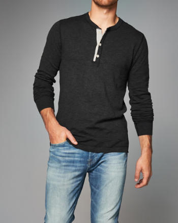 ANF Henley Sweater
