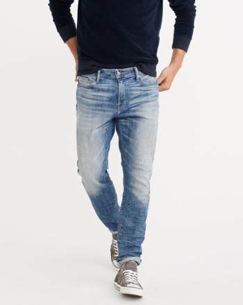 Mens Athletic Skinny Iconic Jeans