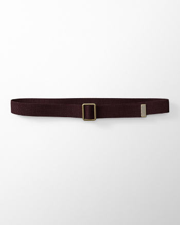 Mens Nylon Pull-Through Belt