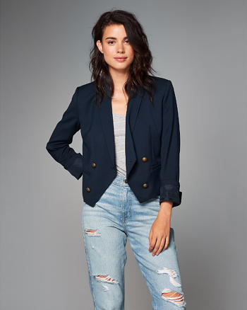 ANF Double-Breasted Blazer