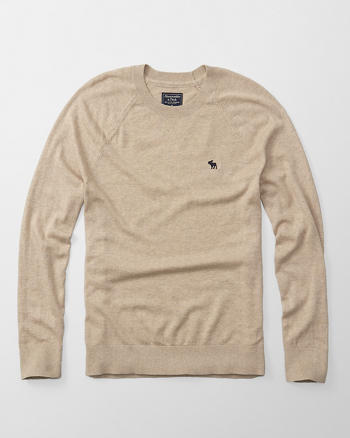 ANF Icon Wool-Blend Crew Sweater