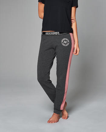 ANF Color Block Sport Joggers