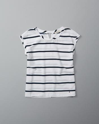 ANF Short-Sleeve Dolman Top