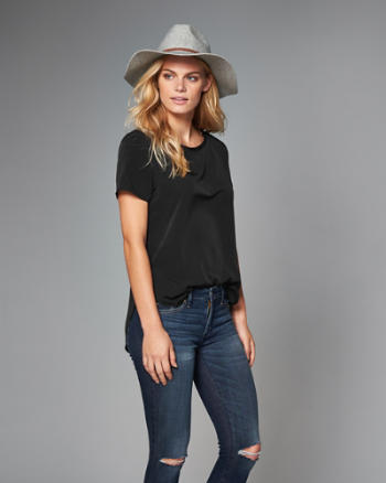 Womens Side-Split Tee