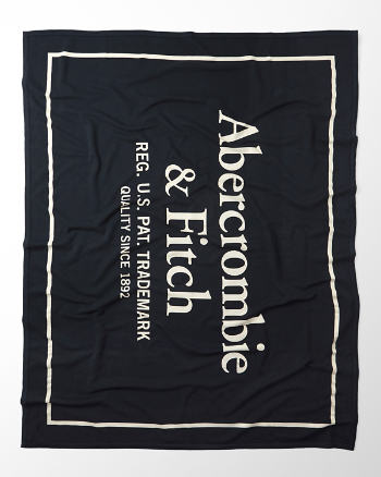 ANF Logo Graphic Blanket