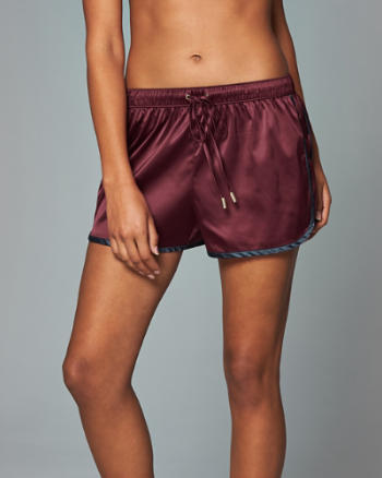 ANF Pull-On Track Shorts