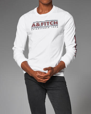ANF Graphic Long-Sleeve Tee