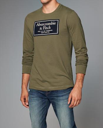 ANF Heritage Logo Long-Sleeve Tee