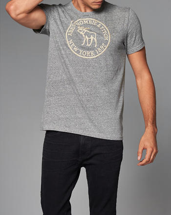 ANF Heritage Logo Graphic Tee