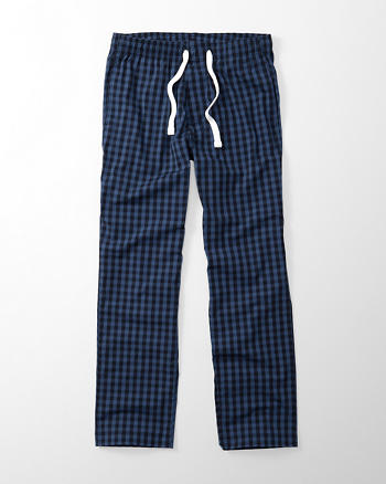 ANF Stretch Woven Sleep Pants