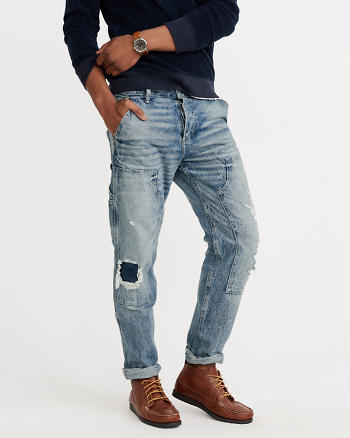 ANF Ripped Carpenter Jeans