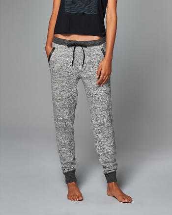 ANF Faux Leather Pocket Joggers
