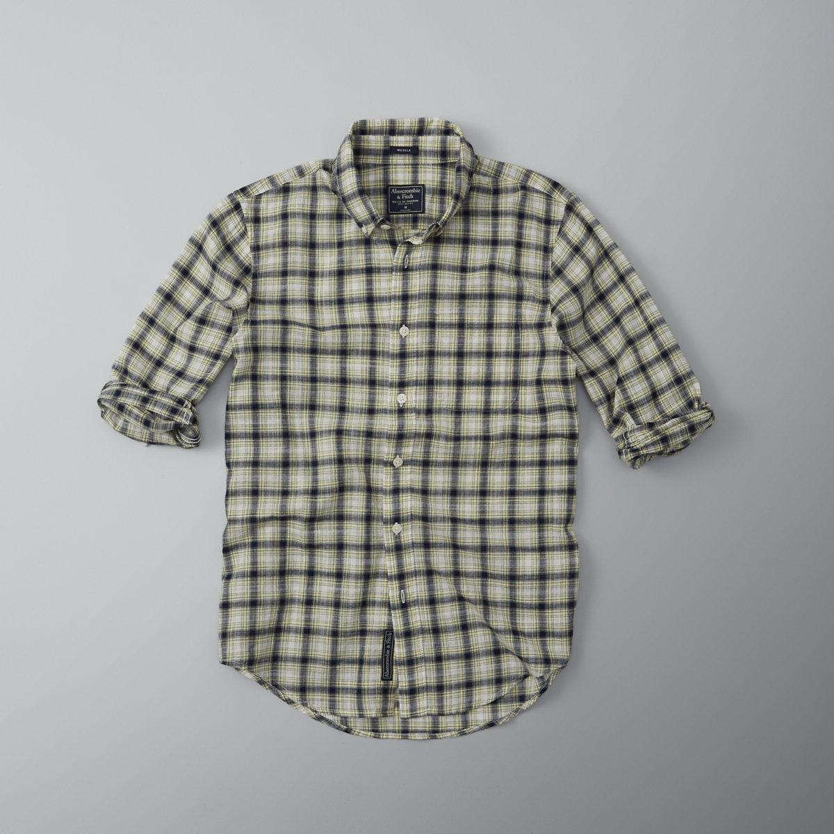 Plaid Gauze Shirt
