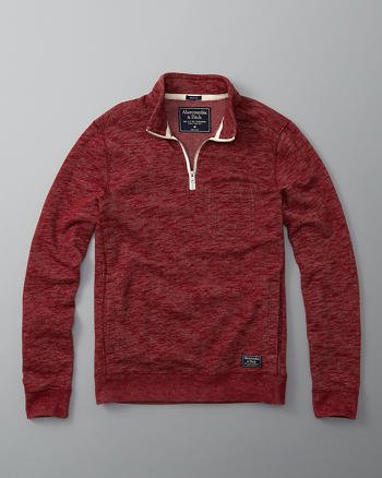 ANF Pocket Half-Zip Pullover