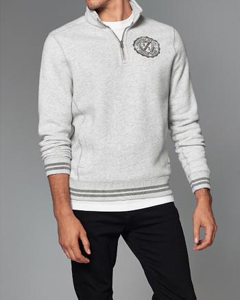 ANF Half-Zip Pullover