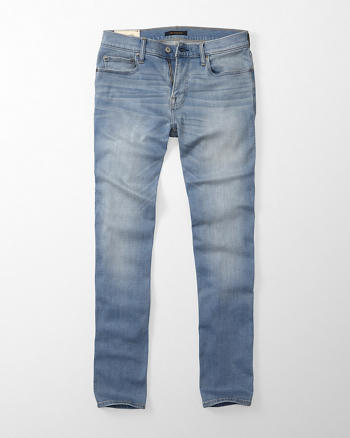 ANF Slim Straight Performance Jeans