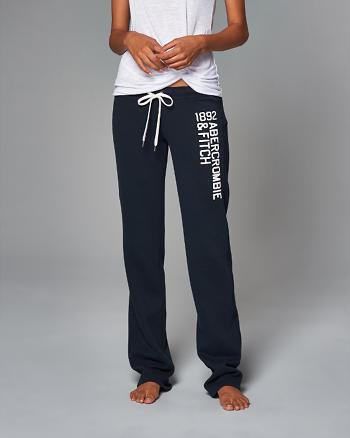 ANF Logo Skinny Sweatpants