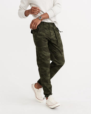 ANF Camo Paratroop Pants