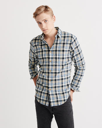 ANF Homespun Twill Shirt