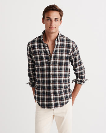 ANF Cotton Twill Shirt