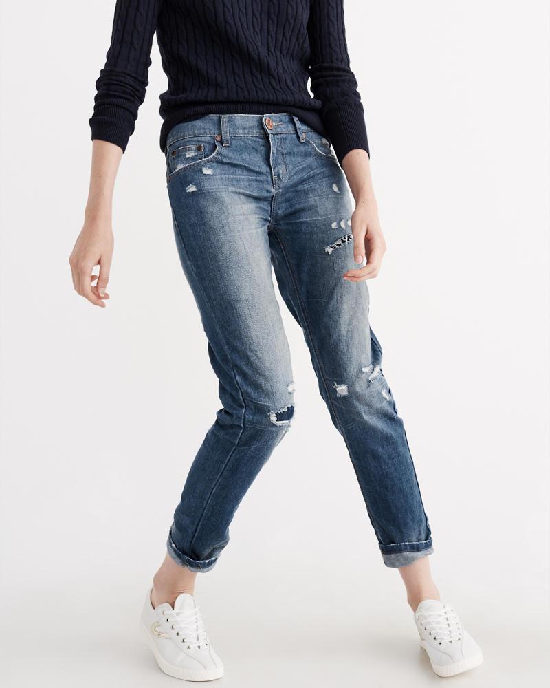 Womens Boyfriend Jeans | Abercrombie &amp Fitch