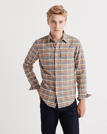 ANF Washed Oxford Shirt