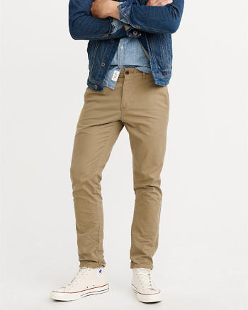 ANF Athletic Skinny Chino Pants