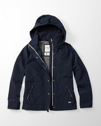 ANF Hooded Technical Jacket